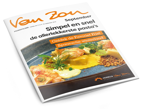 Van Zon promofolder september 2019
