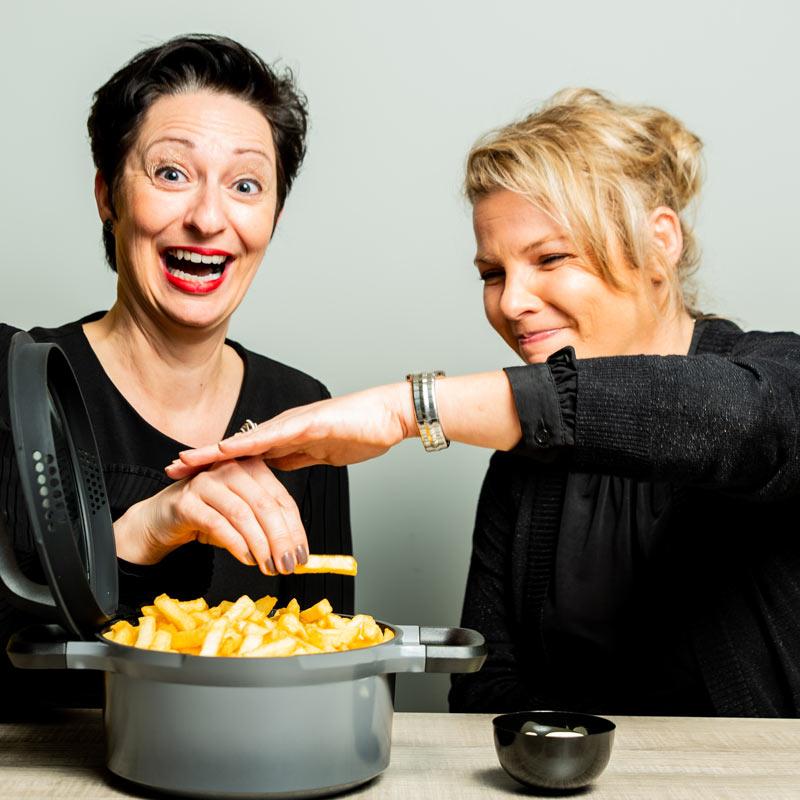 Marion Van Zon (Horeca Van Zon) en Hilde Rutten